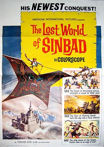 The lost world of sinbad