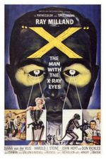X the man with the -X-Ray Eyes poster