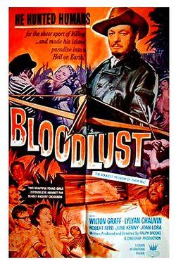 Bloodlust poster