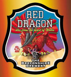 Red dragon beer