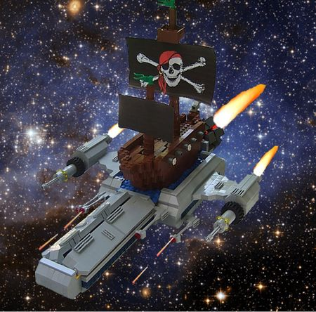 Space pirates dylan b