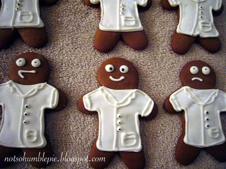 Gingerbread science guys