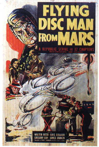 Flying disc man from mars a