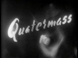 Quatermass 2 tv serial title card