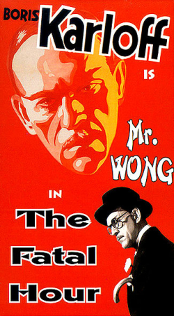 Mr wong the fatal hour