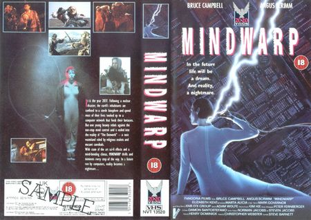 Mindwarp uk vhs