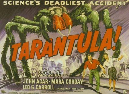 Tarantula poster accident