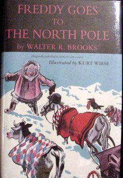 Freddy goes tothe north pole