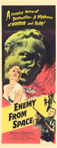 Quatermass 2 enemy from space poster