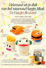 Mcdonalds happyrockers