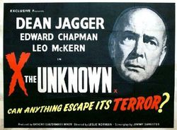 X the unknown poster hor