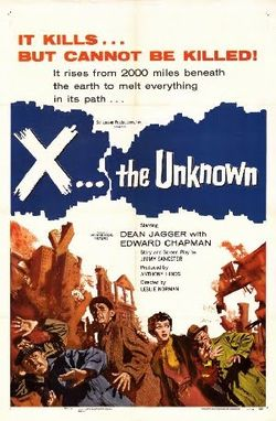 X the Unknown poster
