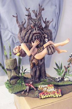 From hell it came statue