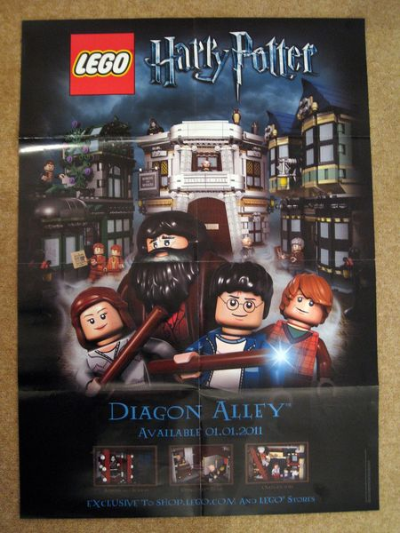 LEGO Diagon Alley Poster