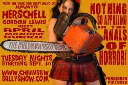 Chainsaw sally show