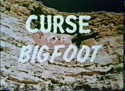 Curse of bigfoot title