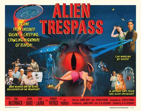 Alien tresspass hor poster