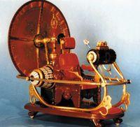 The time machine vehicle