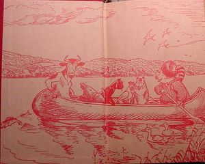 Freddy camping endpapers