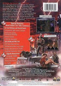 Ghostbusters 2002 dvd cover