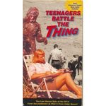 Teenagers battle the thing vhs