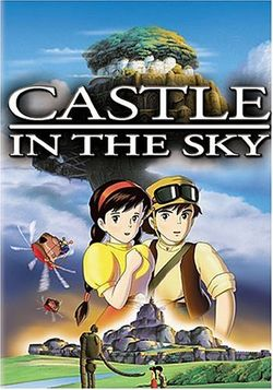 Castle int he sky dvd