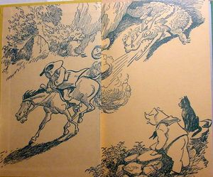 Freddy dragon endpapers-1