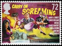 Carry-on-screaming stamp