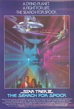Star trek 3 the search for spock poster