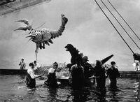Godzilla vs the sea monster cast crew