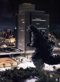 Godzilla 1984 g building