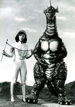 Terror of mechag titanosaurus