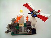 Godzilla mothra lego
