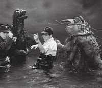 Godzilla vs the sea monster cast