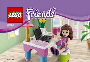 30102 Olivia And Laptop