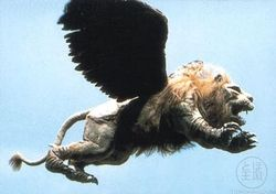 Latitude-zero-flying lion