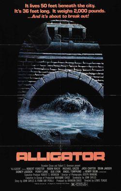 Alligator postr