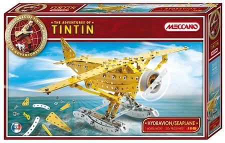 Meccano-tintin-seaplane
