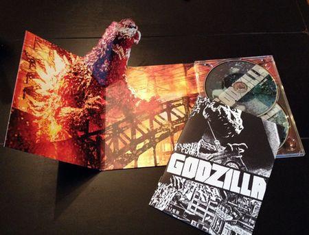 Godzilla fold out