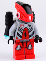 Gs006 Red Robot Sidekick with Jetpack