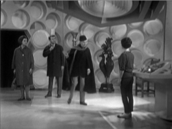 Doctor who an Unearthly Child tardis