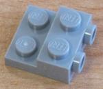 99206 Plate Mod 2x2x2-3 2 Studs Side