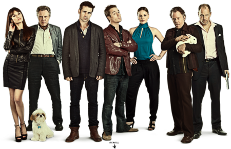 Seven psychopaths cast