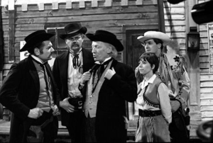 Doctor who 25 the gunfighters cast