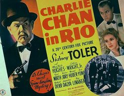 Charlie chan in rio poster