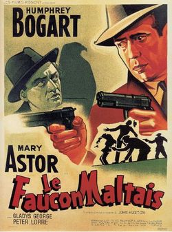 The-maltese-falcon-poster french