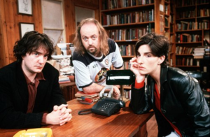 Black books cast