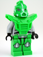 Gs013 Bright Green Robot Sidekick Armor