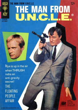 The man from uncle comic a