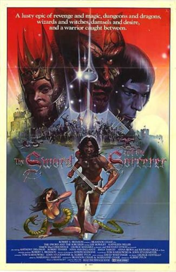 Sword and the sorcerer poster